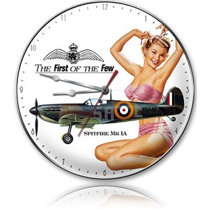 First Of The Few Metal Clock