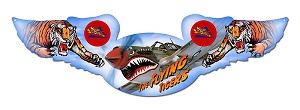 Flying Tigers Vintage Metal Sign