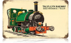 Talyllyn RailwayVintage Metal Sign