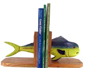 Mahi Mahi Bookends - Set Of Two