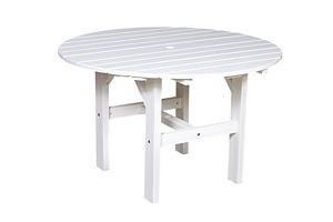 Polyresin Patio 46 In. Dining Table