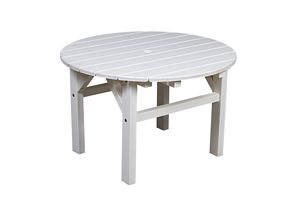 Polyresin Patio 33 In. Occasional Table
