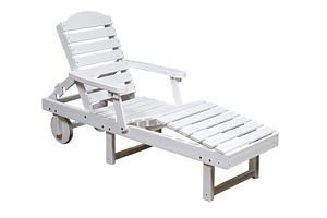 Polyresin Patio Chaise Lounger Chair