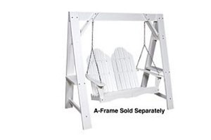 Polyresin Patio Adirondack Swing