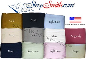 Luxury Rv Size Sheet Sets 300 Thread Count