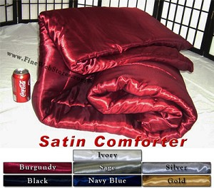 Super Single Satin Waterbed Comforter