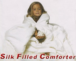 Queen Silk Filled Comforter