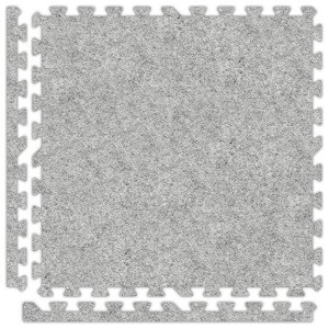 Smoke Soft Carpet Floor Premium Tile Kit