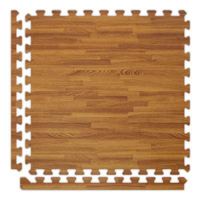 Dark Oak Soft Wood Floor Tile Kit