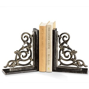 Classic Scroll Bookends