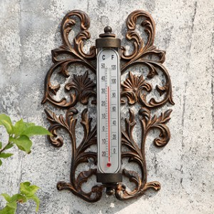 Scroll Wall Mounted Thermometer