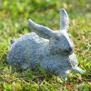 Garden Rabbit Sculpture