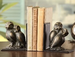 Loving Owls Bookends