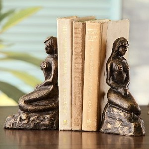 Lonely Mermaid Bookends