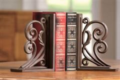 Iron Provincial Bookends - Set of Two