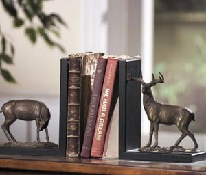 Deer Bookends