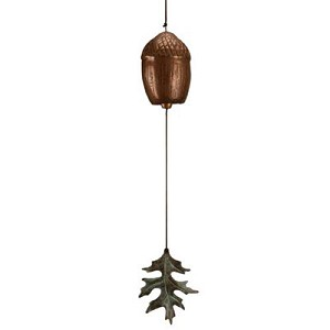 Acorn And Single Leaf  Wind Chime