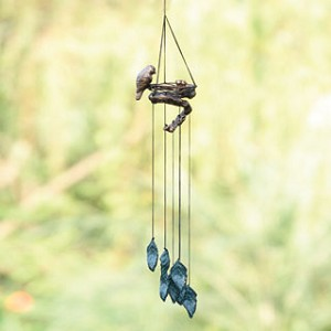 Bird And Nest Wind Chime