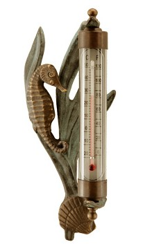 Seahorse Wall Mounted Thermometer