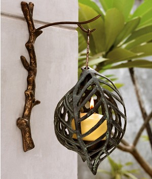 Leaf Wall Candle Holder