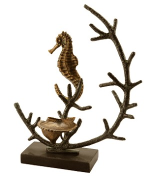 Seahorse Candle Holder