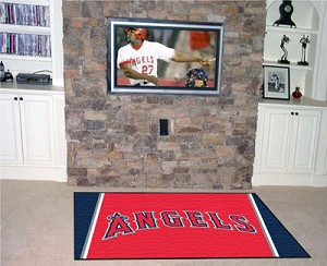 Los Angeles Angels Area Rug