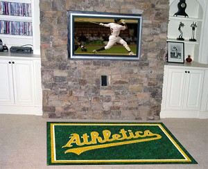 Oakland Athletics Area Rug