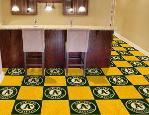 Oakland Athletics Carpet Tiles