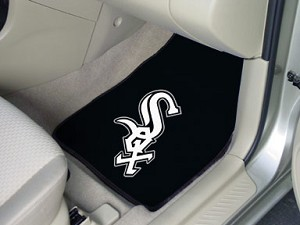 Chicago White Sox Universal Carpet Car Floor Mat, Set Of 2
