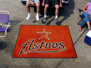 Large Houston Astros Logo Area Rug