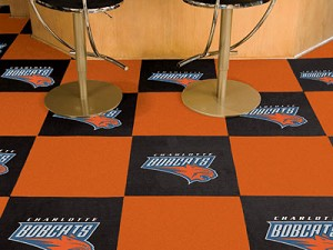 Charlotte Bobcats Carpet Tiles