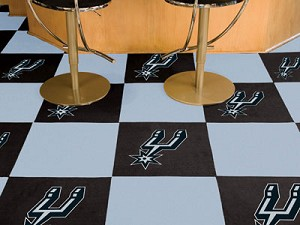 San Antonio Spurs Carpet Tiles