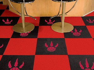 Toronto Raptors Carpet Tiles