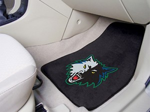 Minnesota Timberwolves Universal Carpet Car Floor Mat, Set Of 2