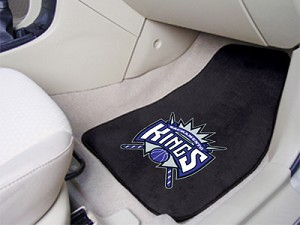 Sacramento Kings Universal Carpet Car Floor Mat, Set Of 2
