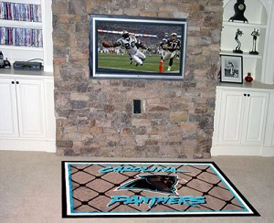 Carolina Panthers Area Rug