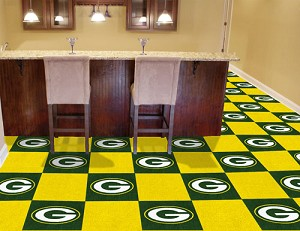 Green Bay Packers Carpet Tiles