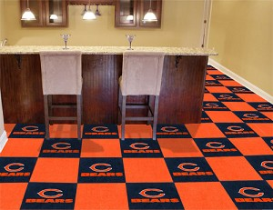 Chicago Bears Carpet Tiles