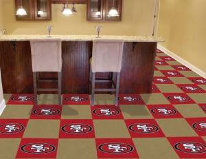 San Francisco 49Ers Carpet Tiles