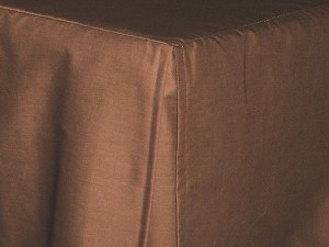 Queen Copper Tailored Dustruffle Bedskirt