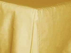 Full/Double Gold Tailored Dustruffle Bedskirt