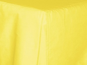 California King Lemon Yellow Tailored Dustruffle Bedskirt