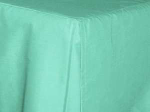 Full/Double Mint Green Tailored Dustruffle Bedskirt