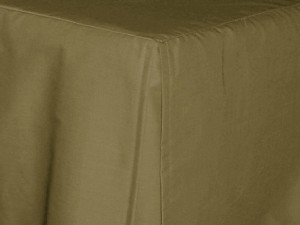 King Olive Green Tailored Dustruffle Bedskirt