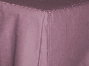 California King Powder Plum Tailored Dustruffle Bedskirt