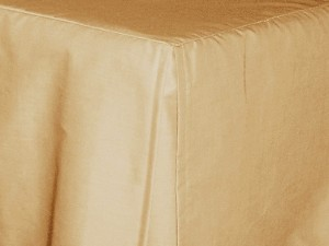 Queen Beige Tan Tailored Dustruffle Bedskirt