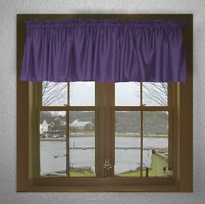 Grape Purple Window Valances