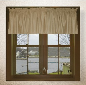 Taupe Window Valances
