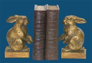 Baby Rabbit Bookends