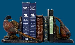 Pheasant Bookends